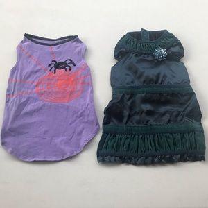 🐶 2 PET DOG DRESSES | Medium Size Dog Clothes